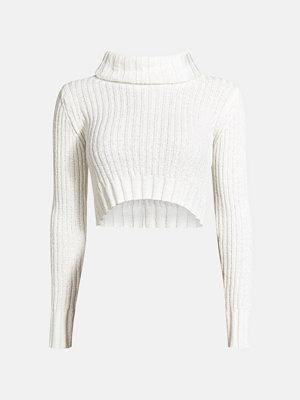 Bik Bok Nancy stickad tröja - Vit