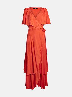 Bik Bok Phoebe klänning - Mörkröd