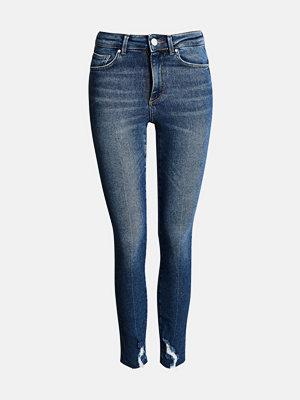 Bik Bok Higher F Bella Ankle jeans - Blå