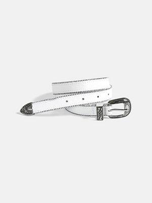 Bälten & skärp - Bik Bok Star belt - Vit