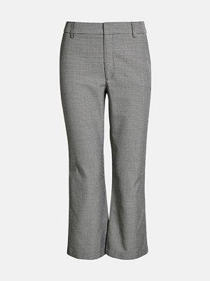 Bik Bok grå byxor Vilda Check trousers - Multi