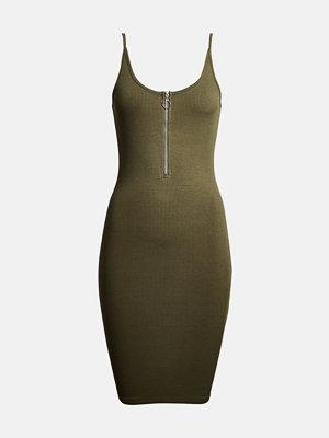 Bik Bok Skyler klänning - Mörkgrön