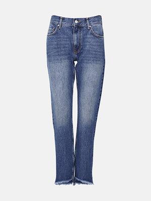 Bik Bok Piper Barrel Jeans - Blå