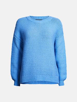 Bik Bok Apple stickad tröja - Blå