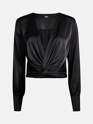 Bik Bok Twist blouse - Svart