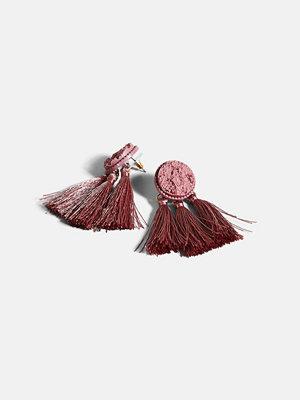 Bik Bok örhängen Clever øredobber - Röd