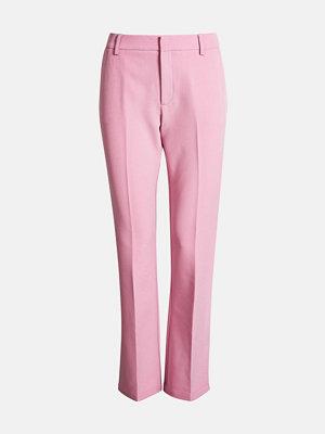 Bik Bok omönstrade byxor Vilda Pink bukse