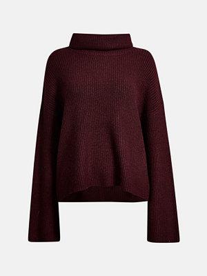 Bik Bok Caroline stickad tröja - Vinröd