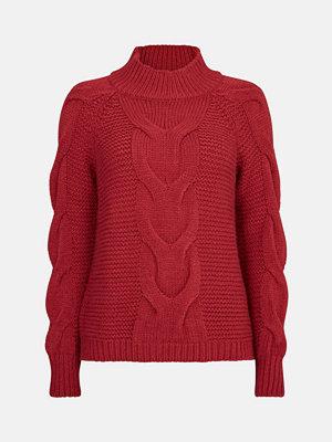 Bik Bok Lucy stickad tröja - Röd