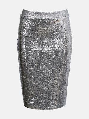 Bik Bok Larsson skirt - Silver