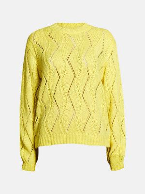 Tröjor - Bik Bok Leaf tröja - Neongul