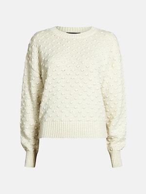 Bik Bok Bubble tröja - Offwhite