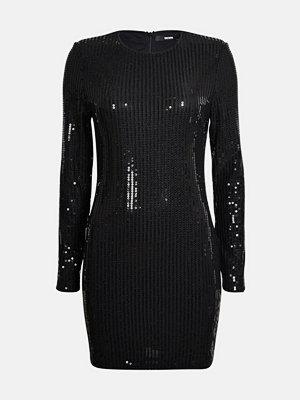 Bik Bok Shimmer klänning - Svart