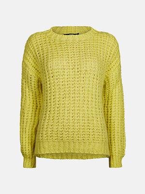 Tröjor - Bik Bok Kath tröja - Melerad gul