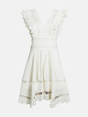 Bik Bok Lyon klänning - Vit