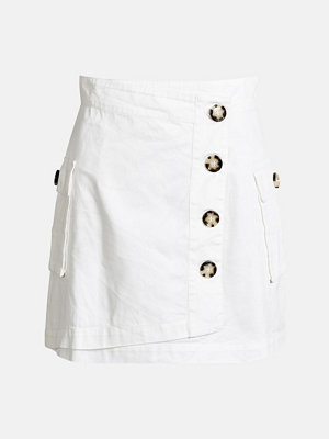 Kjolar - Bik Bok Army kjol - Vit