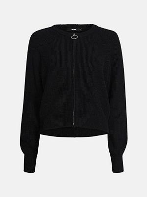 Cardigans - Bik Bok Live knitted jacket - Svart