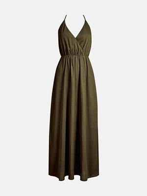 Bik Bok Miriam klänning - Mörkgrön