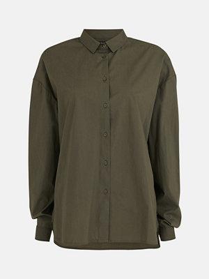 Skjortor - Bik Bok Lenny shirt - Mörkgrön