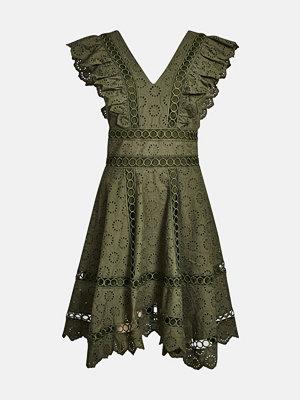Bik Bok Lyon klänning - Mörkgrön