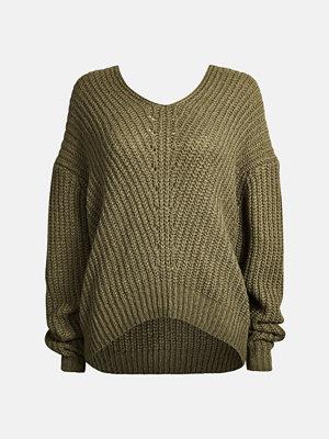 Tröjor - Bik Bok Pebble tröja - Grön