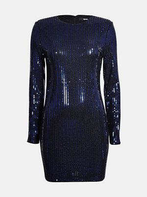 Bik Bok Shimmer klänning - Blå