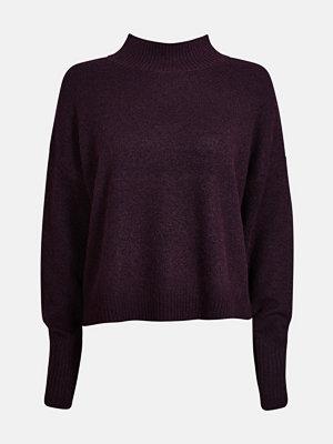 Tröjor - Bik Bok Kristal stickad tröja - Mörklila