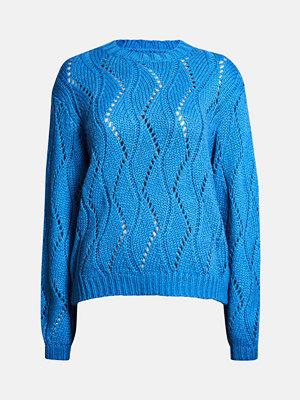Bik Bok Leaf tröja - Neonblå