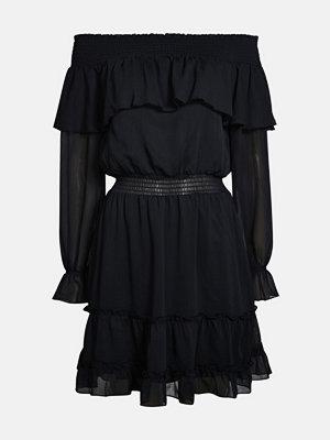 Bik Bok Ferige klänning - Svart