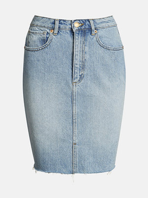 Bik Bok Rainy kjol - Blå
