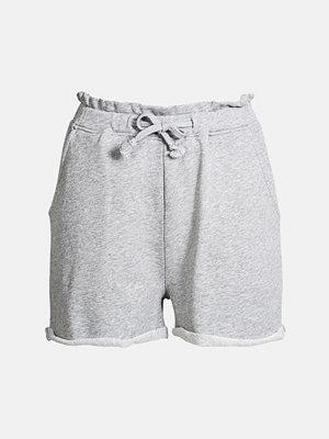 Bik Bok Rock shorts - Ljusgrå