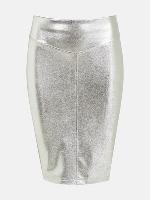 Bik Bok Shift skirt - Silver