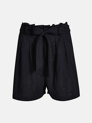 Shorts & kortbyxor - Bik Bok Susie shorts - Svart