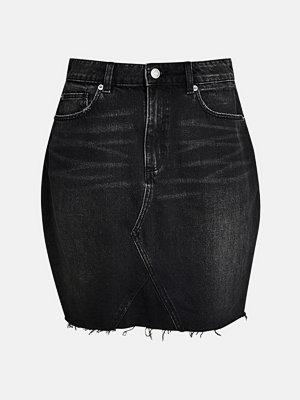 Bik Bok Storm BLK kjol - Svart denim