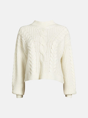 Bik Bok Vilje sweater - Offwhite