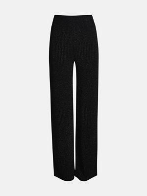 Bik Bok svarta byxor Lux trousers - Svart