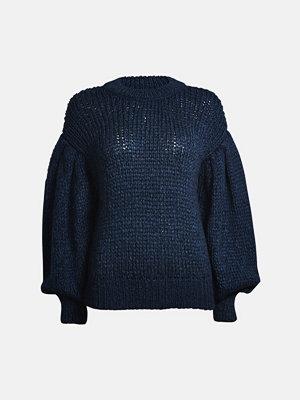 Bik Bok Beach sweater - Melerad mörkblå