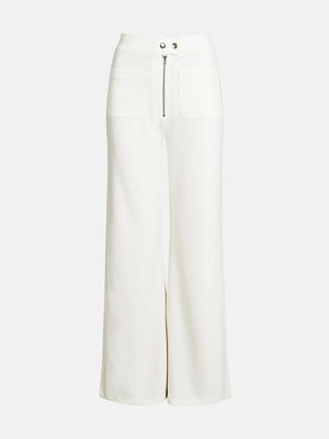 Bik Bok vita byxor Moda trousers - Vit