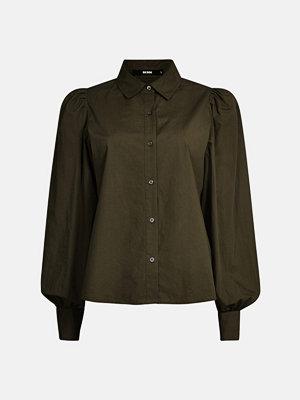 Skjortor - Bik Bok Jenny shirt - Mörkgrön