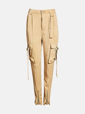 Bik Bok gula byxor Wingwing trousers - Brun