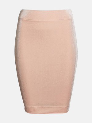 Bik Bok Pencil kjol - Ljusrosa