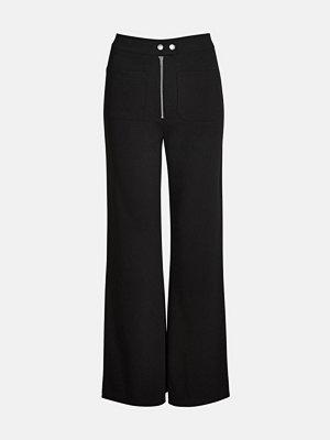 Bik Bok svarta byxor Moda trousers - Svart
