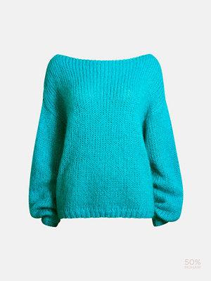 Tröjor - Bik Bok Moisha knitted sweater - Blå