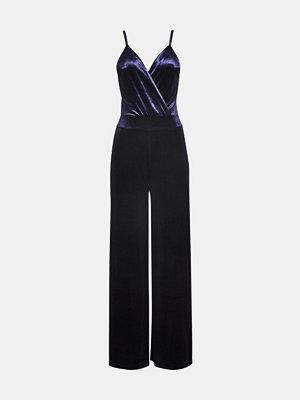 Bik Bok Melissa jumpsuit - Melerad mörkblå