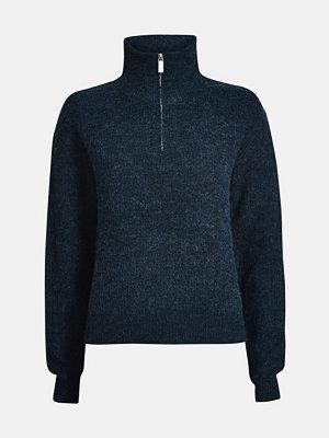 Tröjor - Bik Bok Julian sweater - Melerad mörkblå