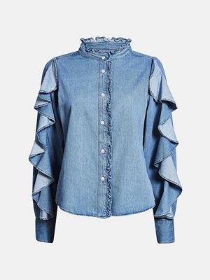 Skjortor - Bik Bok Sara shirt - Blå