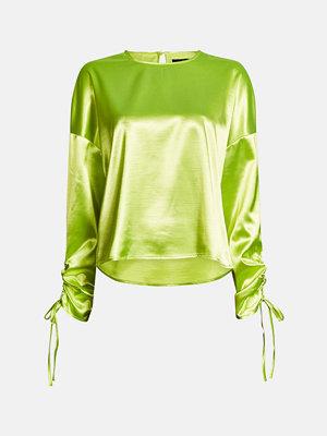 Bik Bok Platina blouse - Neongul