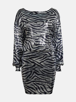 Bik Bok Zenya sequin dress - Silver