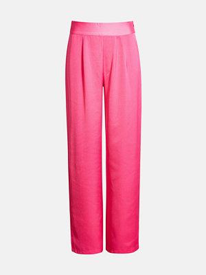 Bik Bok Frocky trousers - Rosa byxor