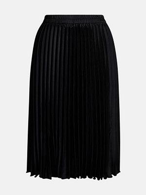 Bik Bok Pleat skirt - Svart